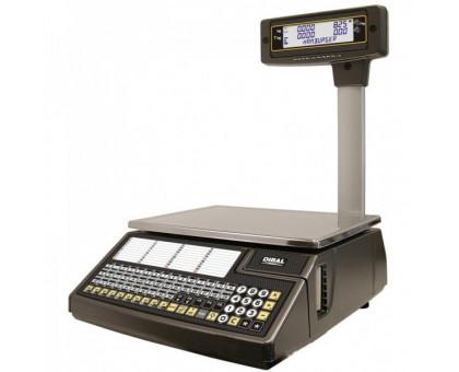 Весы с печатью чека DIBAL W-025 со стойкой