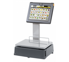 Весы с печатью этикеток DIBAL D-955 самообслуживание